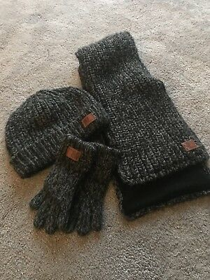 Boys Hat Scarf And Glove Set From Next Age 3-6 Years