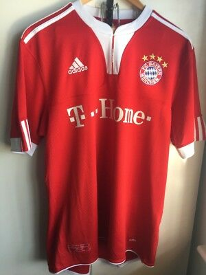 Bayern Munich Adidas Football Shirt Size Large 06/09