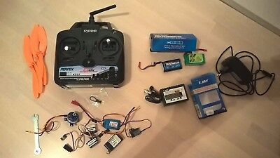 Ensemble Radio Kyosho Perfex+moteur+batterie avion