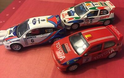 PACK CARLOS SAINZ SCALEXTRIC TECNITOYS, NINCO SLOT 1:32 a USED/NEW