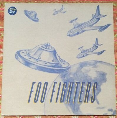 "Foo Fighters - This Is A Call - Uk Luminuos Vinyl 12"" Ep"