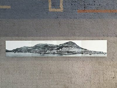 Prc China Hong Kong Four Pane Panorama Sternberg Early