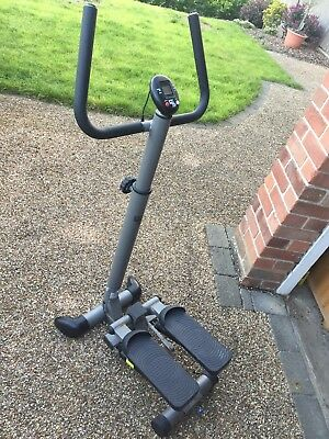 ***** in stride Twist Stepper With Handlebar Stair Climber And Digital Display *