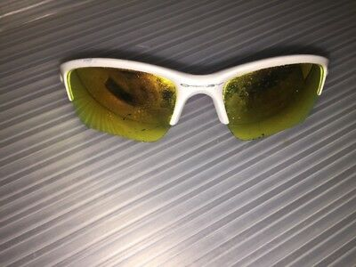 Oakley Boy's Quarter Jacket white Sunglasses
