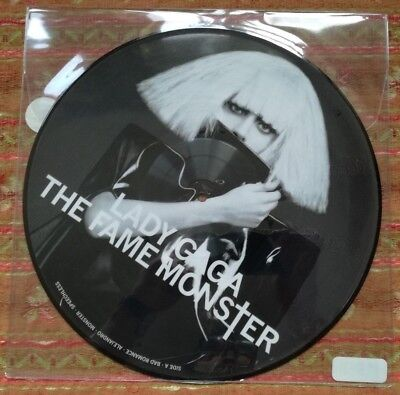 Lady Gaga -The Fame Monster - Us Import Picture Disc Lp - Mint/sealed