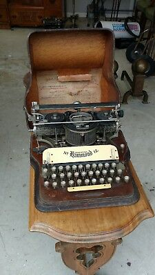 Antique HAMMOND No12 Typewriter
