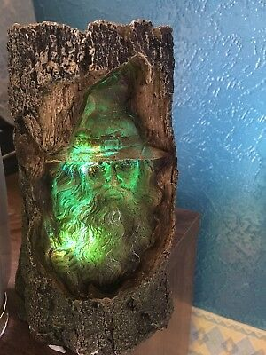 Dark Legends Mystical Wood Wizard Colour Changing Ornament  7 Inches