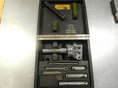 WohlHaupter UPA3/10350 S0-SCHAFT Boring Head Shank w/ Accessories and Case