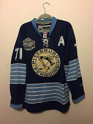 Pittsburgh Penguins Winter Classic 2011 Ice Hockey Jersey L