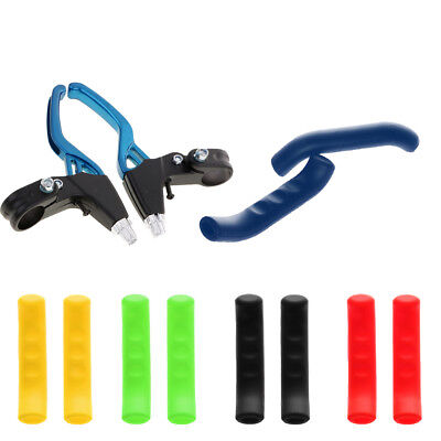 Brake Levers 2-finger Bike Bicycle BMX and Brake Cover Lever Grips Protector