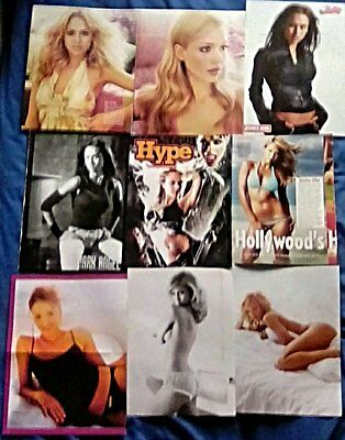 * RARE Older Foreign Jessica Alba Clippings Pack 39 Full Pages Instyle GQ + *