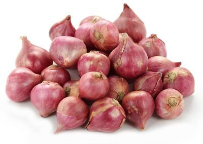 Fresh Red Onion -Shallots - Small red onion - 100 g to 1kg Shallots Onion