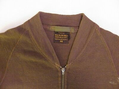 Original WWII US Army Air Force size 44 wool AAF Type C-2 flight sweater vest