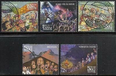 Iceland 2013 - Festival - Complete Set - Used