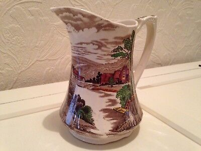 REDUCED Vintage Alfred Meakin 'Tintern'  Jug-unusual and rare. Hand engraved
