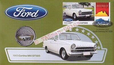 Australia - 2017 - Ford Cortina 1965 MK1 GT500 PNC/FDC - Limited Edition 9000