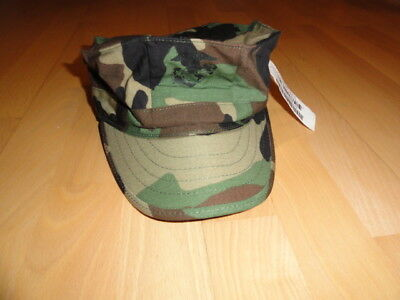 New US MARINES WOODLAND USMC Medium UTILITY FIELD CAP BDU MÜTZE HAT UNIFORM ARMY