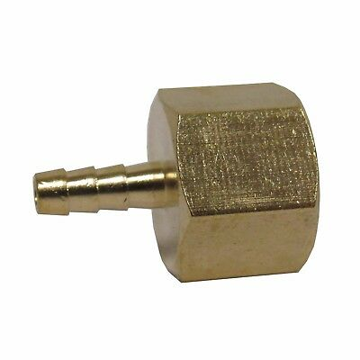 New Brass 1/8 In. Fnpt X Hose Barb Straight Fitting For 1/8 In. Id Hose Nib