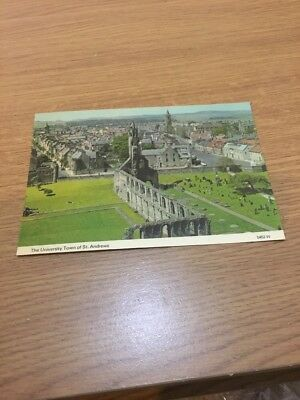 Vintage The University Town Of St Andrews Whiteholme Postcard