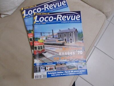 """LOCO REVUE hors serie N°40 """"ambiance années 70"""""""