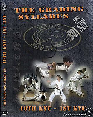 Wado Ryu Karate Dvd (3 Disc Box Set)