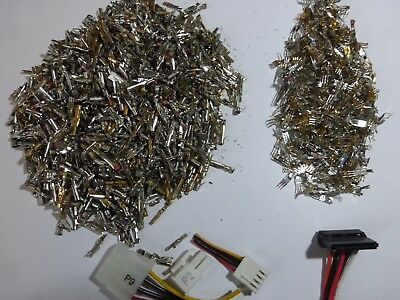 360 Gr Scrap Gold Contacts From The Power Supply Unit Of The Computer