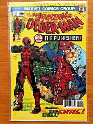 Despicable Deadpool #287 Lenticular B Cover Variant  Deadpool Kills Cable  NM+