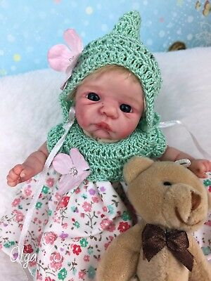 OOAK polymer clay baby girl Amy  6  ''  pose-able by OLga KS