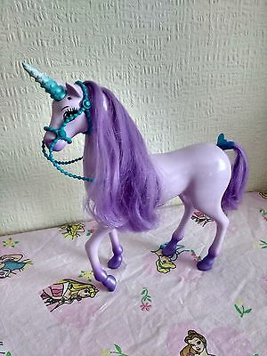 Princess Barbie's Pink Collectors Regal Fantasy Unicorn Horse Doll