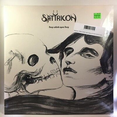 Satyricon Deep Calleth Upon Deep Wht Vinyl Lp New Cad