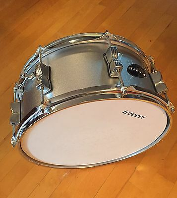"""Ludwig Accent Silver Snare Drum 14""""X 6"""""""