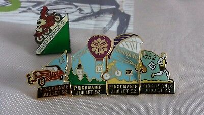 "lot pin's ""LE GRAND BORNAND ""  1991-1992 en sachet et avec attaches"
