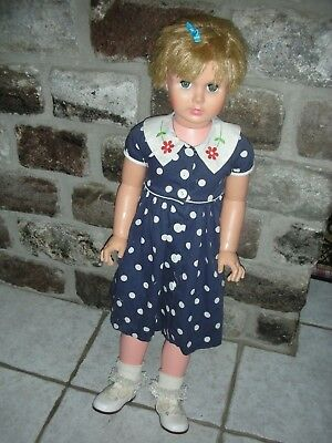 "NR Vintage Companion Doll Patti Playpal Type 36"" In Uneeda Playpals Dolls"