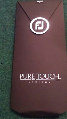 FootJoy Pure Touch - Golf Glove White Left LARGE