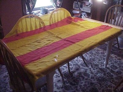Original Captured Spanish-Philippine Flag Banner