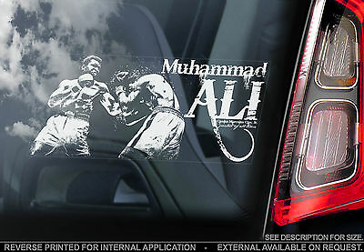 Muhammad Ali - Car Window Sticker - Boxing Champion Sign - Cassius Clay/Mohammed