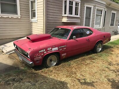 1970 Plymouth Duster Set up for Drag Car 1970 Plymouth Duster 440