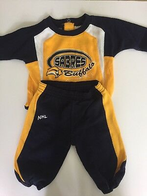 buffalo sabres baby boy outfit 2 piece set size 3-6 months good condition