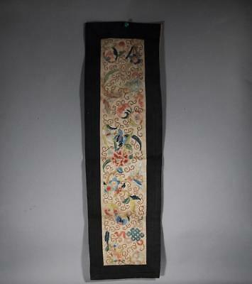 Chinese Vintage Embroidered Robe Sleeve