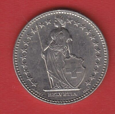 Switzerland 2 Francs 2008