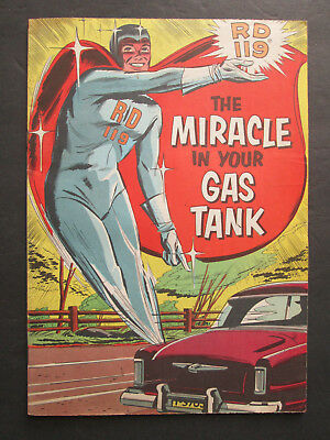 Vintage Promo Comic Book - The Miracle in Your Gas Tank - Sinclair RD119