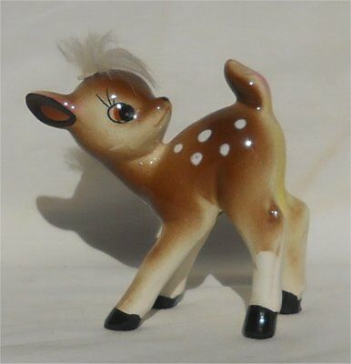Vintage 1940s or 50s Made In Japan Bambi Fawn Deer Figurine