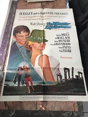 The Moon-Spinners 1964 Original One Sheet Poster
