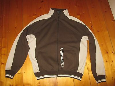 1990's Vintage Mens Sports Spalding Brown Zip Up Jacket - Size XL