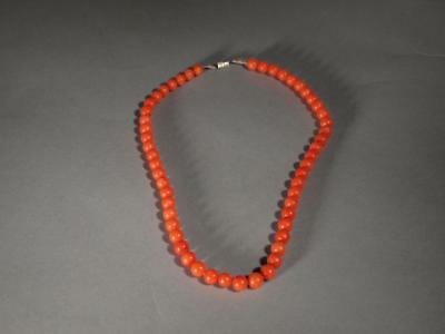 Chinese Vintage Coral Necklace