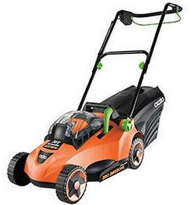The Ozito 36V Cordless Lawn Mower with Battery and Charger