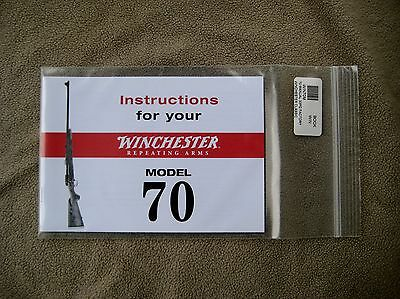 Winchester Model 70 instruction manual