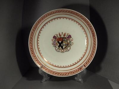 Chinese Export Armorial Shallow Bowl Circa 1800