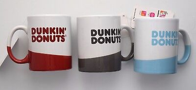 DUNKIN' DONUTS 16 oz ceramic coffee mug $17 each - NEW with tags