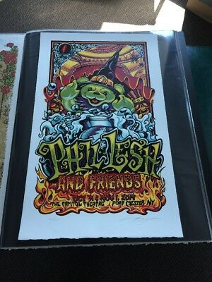 Phil Lesh & Friends Halloween 2014 Capitol Theatre Poster AJ Masthay